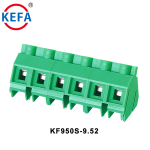 Chinese Supply Connector PCB Screw 9.5mm Terminal Block Manufacture