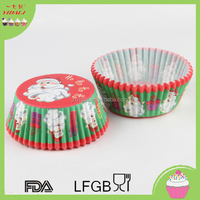Christmas Cake Decorations Baking Supplies cupcake cup for 2016