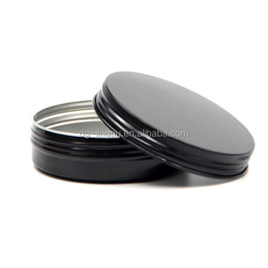 Low price wholesale hair pomade wax cream screw cap tin can