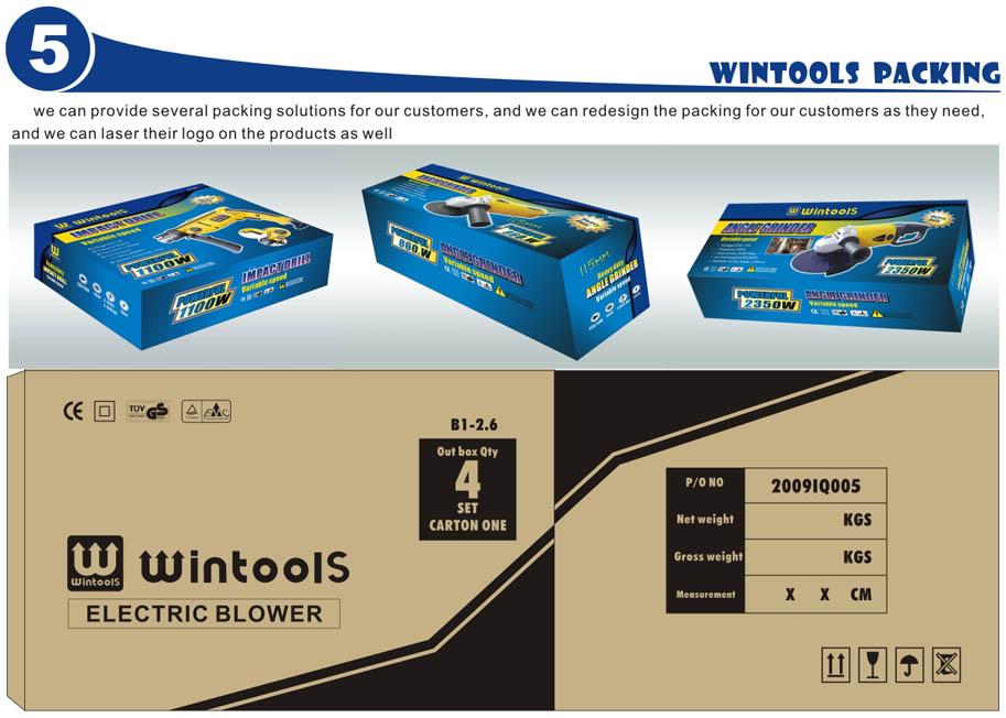 Professional Wintools 250w 6 Heavy Duty Bench Grinder