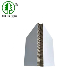 China Manufacturer 15 mm white Honeycomb Paper Cardboard For Shipping Wholesale