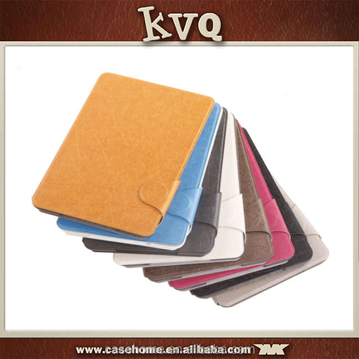 High quality Customized Watkins PU Leather Tablet Case For iPad mini/air 2 Stand Case Cover Sleep/wake up function
