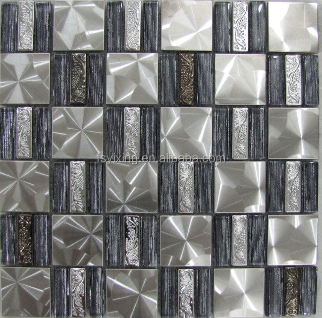 Gm 129 elegante mosaico de vidrio baldosas baldosas de mosaico de ...