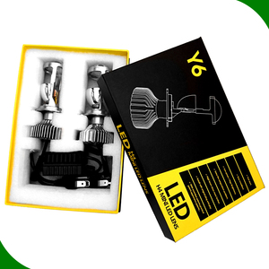 auto lighting system led 4pcs light Chips 8000lm headlight kit h1 h3 h4 h8 h9 9004 6000k hottest car replace car led projector