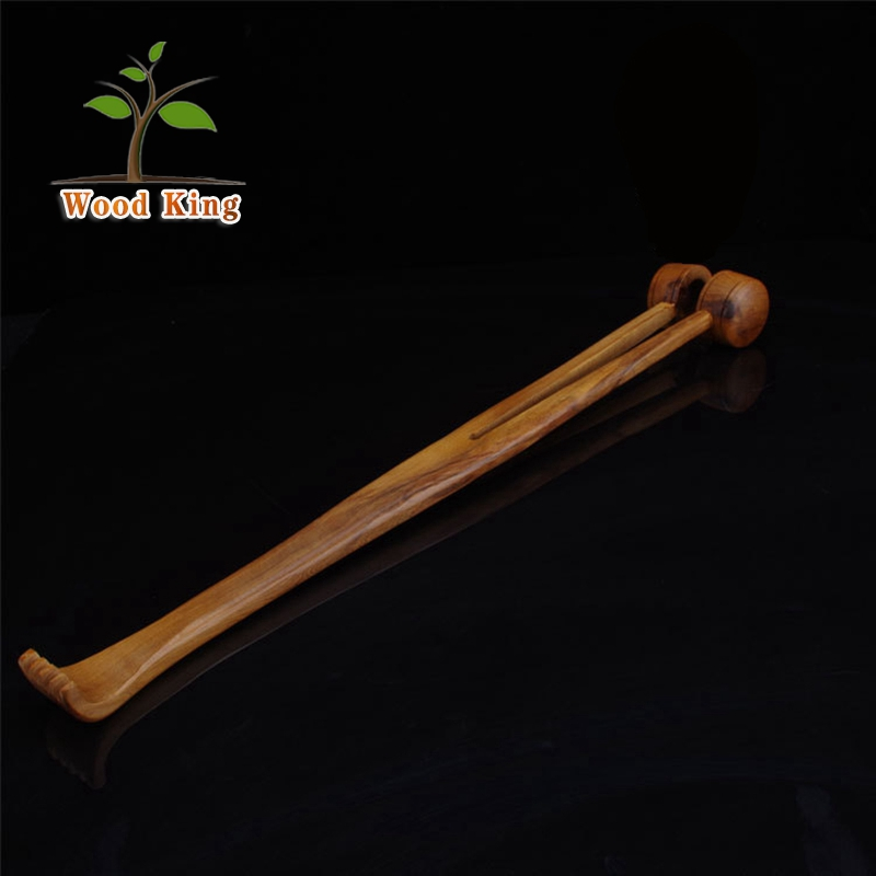 Custom LOGO Rod Knock Shoulders Legs Health Body Massage Hammer Long Handle Back Massager Back Massage Stick