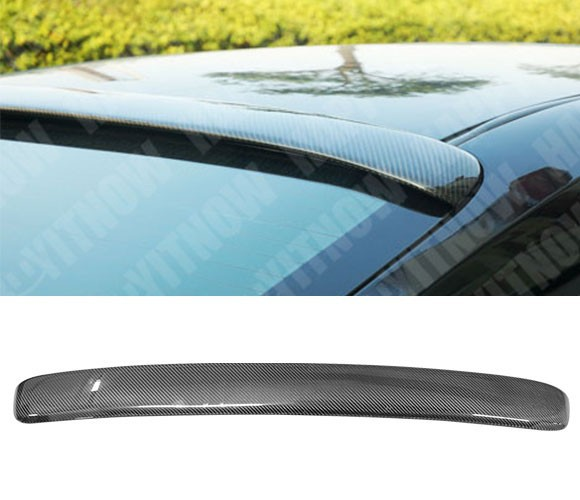 FOR 07-11 TOYOTA CAMRY CARBON FIBER CF UNPAINTED ROOF SPOILER