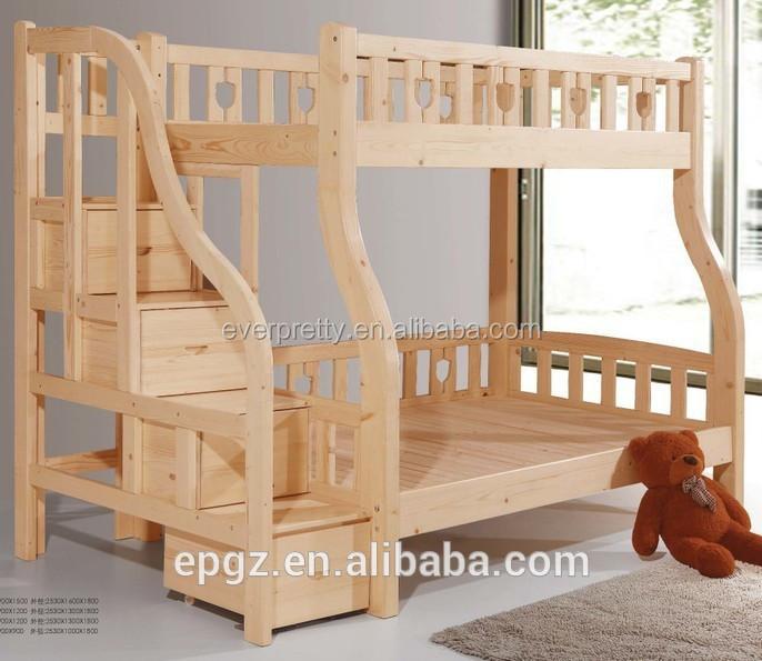 Cama muebles de madera madera muebles del beb nuevo for Modelos de muebles de madera