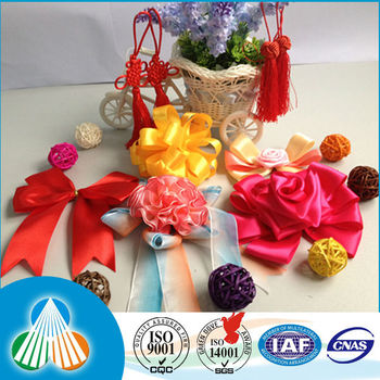 Handicraft Satin Ribbon Flowers Making Buy Satin Ribbon Flowers
