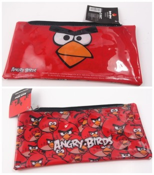 cute cartoon colorful printing zipper pencil bag (SD-PB-042)