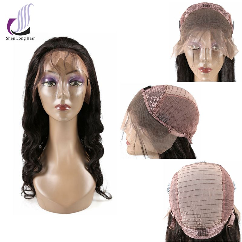 Hot Sale 100 Human Hair Body Wave Indian Lace Front Wigs