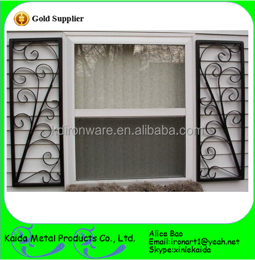 Simple beautiful iron windw grill window steel grill for Window design pakistan