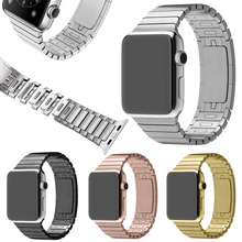 Stainless Steel 1:1 Original Space Black Link Bracelet for Apple Watch Band, Stainless Steel Watch Strap for Apple Watch Band