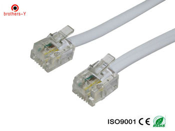 rj11 connector telephone cable /telephone cord/landline phone wire