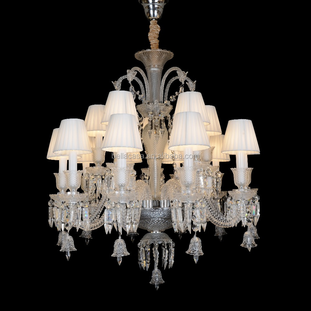 High Quality Baccarat Design Glass Chandelier Lighting with K9 Crystal