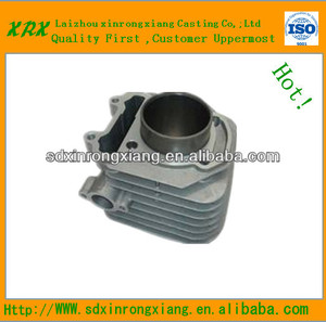 OEM Grey Iron Casting Auto Cylinder On The Air Compressor