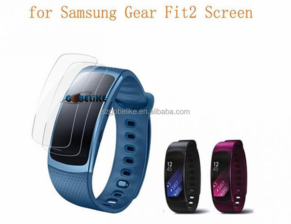 For Samsung Gear Fit 2 Soft TPU Screen Protector Watch Screen Guard