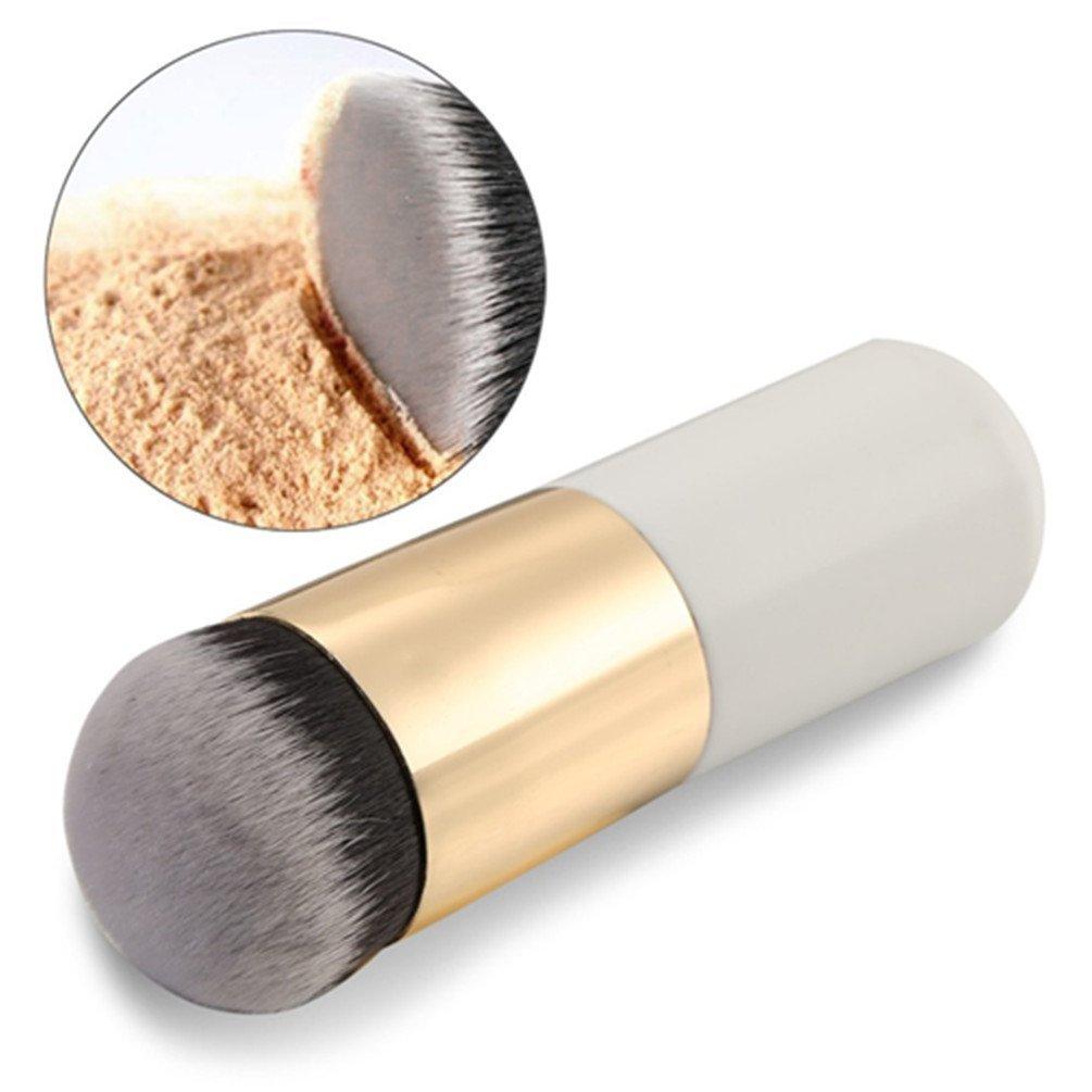 DE'LANCI Makeup Brush Large Round Head Pro BB Cream Concealer Liquid Foundation Blush Buffer Face Powder Bronzer Makeup Brush Tool