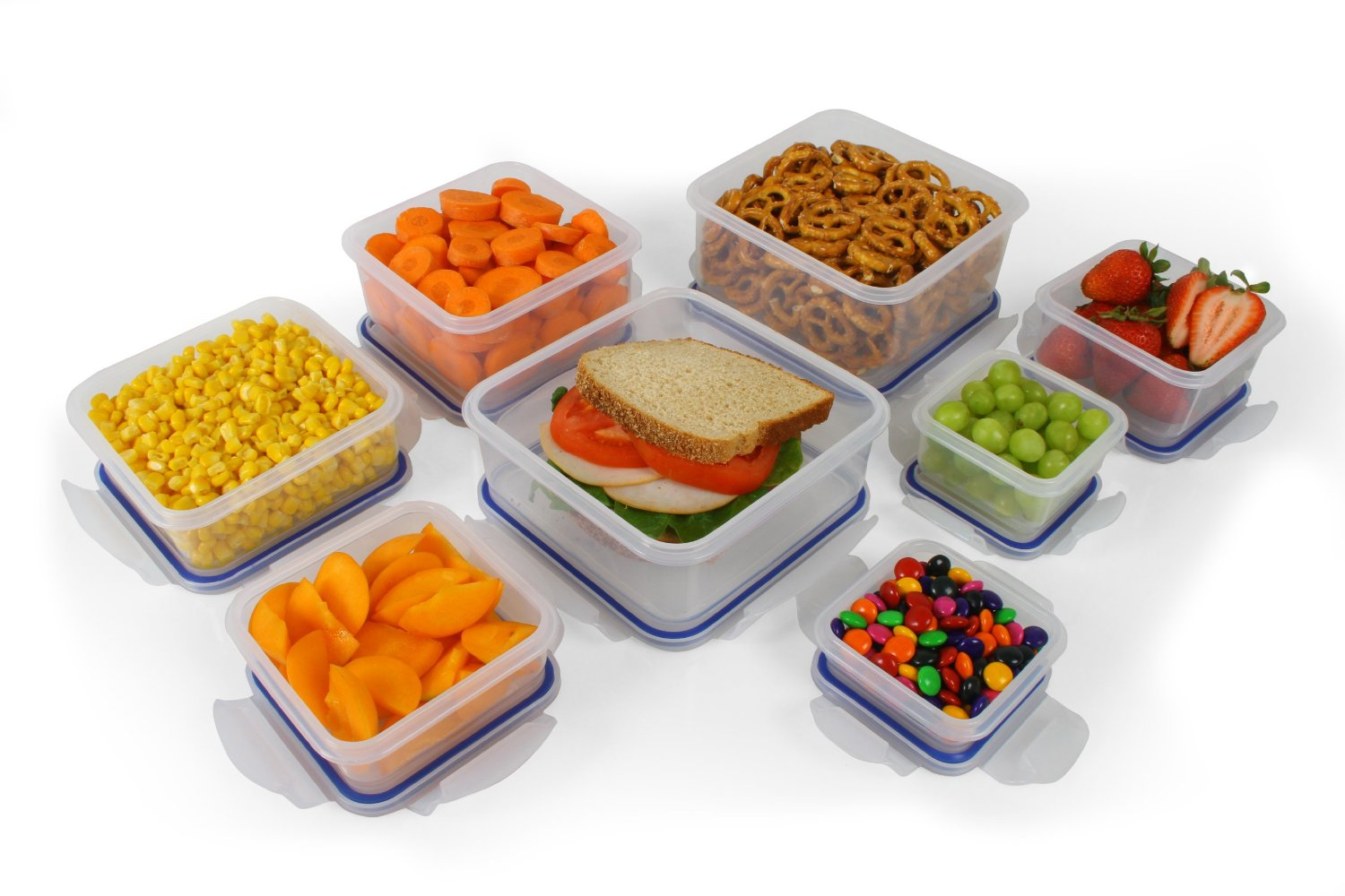 Little- Big food box for storage plastic food container