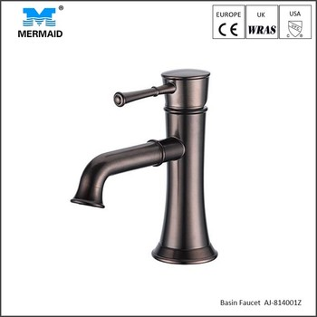 Modern Black Faucet Oil Rubbed Bathroom Basin Taps Single Handle ...