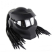 ABS Predator Motorcycle Street Bike Full Face Helmet W/ Visor, LED Lgts