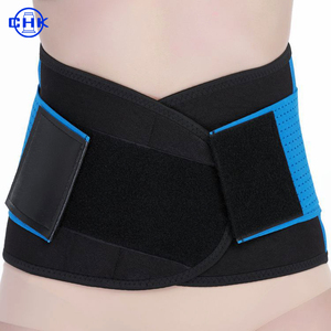 Premium lumbar back support/belly fat waist trimmer/neoprene waist support belt
