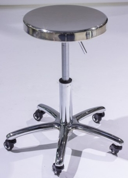 Cushion Rolling Stainless Used Bar Salon Saddle Stools For