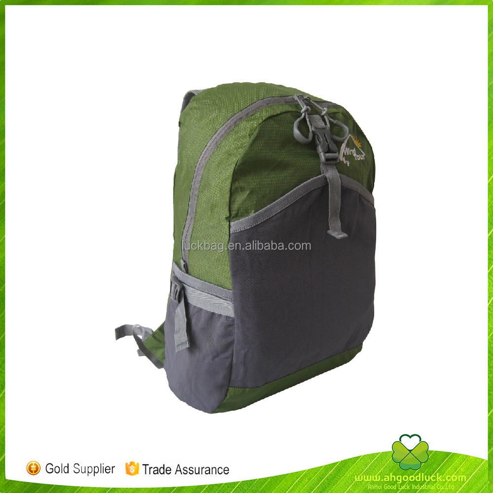 2017 China Suppliers Promotional High Quality Nylon Sport Backpack