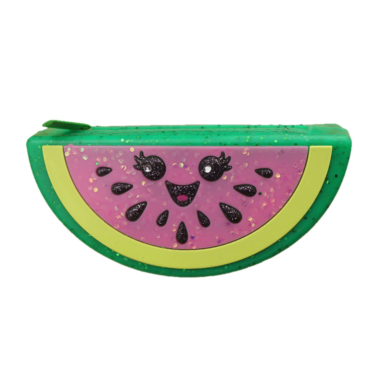 2019 Fashion 1pc Creative Fruit Lovely Cartoon Watermelon Coin Bag Purse Wallet Red Moderate Price Coin Purses & Holders Coin Purses