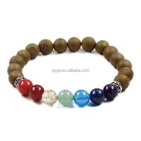 Handmade 7 chakra set / Custom Natural Semi-precious Stone Beaded Bracelets