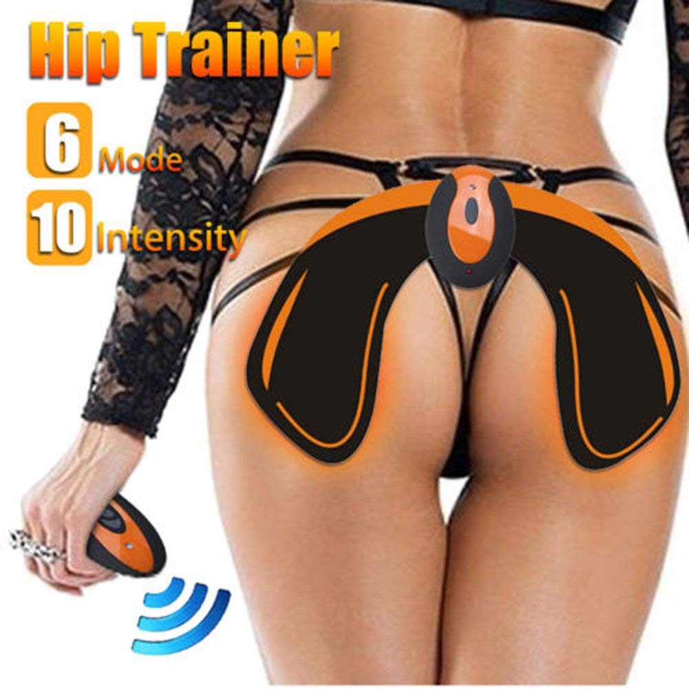 Hips Trainer EMS muscle hips USB remote operated slimming belts electric fat burning massage belt Body Building <strong>Device</strong>