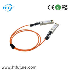300M SFP+ 10Gb/s 850nm Active Optical Cable AOC Cable Fiber To Copper Transceiver