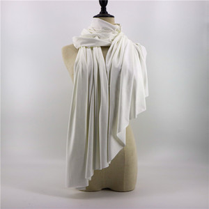Wholesale suede scarf high quality plain shawls for women fashionable and warm winter scarf
