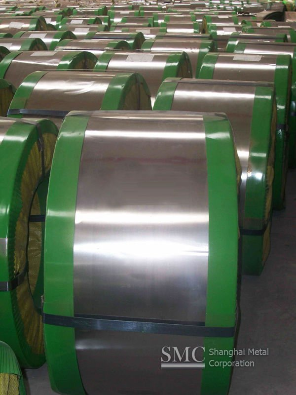 301 stainless steel strip for spring applications.
