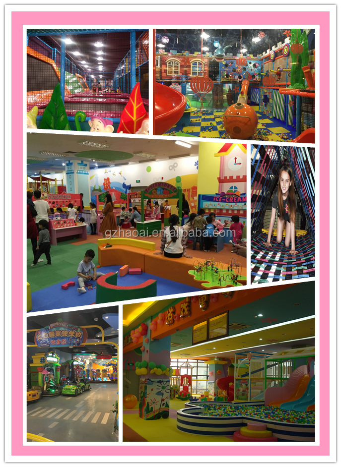 A-15375 Guangzhou Factory Kids/Children  Used Commercial Indoor Playground Equipment For Sale with Football Camp