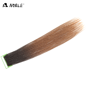 2018 new product noble gold synthetic hair small crochet braid black and brown mixed hair color popular synthetic hair weave