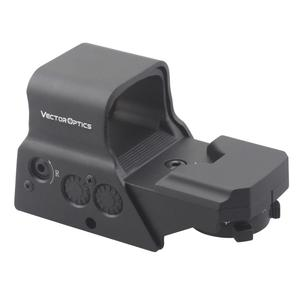Vector Optics Omega 1x Tactical Solar Reflex 8 Reticle Red Dot Sight US Scope in High End Quality fit for AR15 AK74 .223 5.56