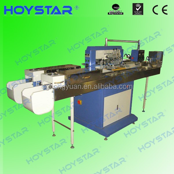 GW-2P automatic screen printing machine for plastic syringes