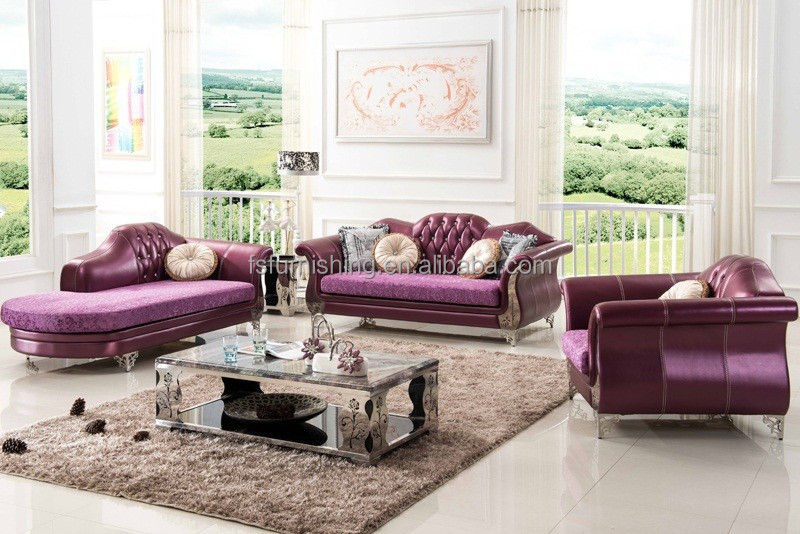 leather and velvet sofa hereo sofa
