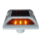 Aluminium solar road stud high brightness LED cat eye reflector