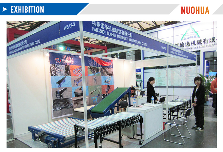 Competitive Adjustable PVC Roller Conveyor Exported To Worldwide