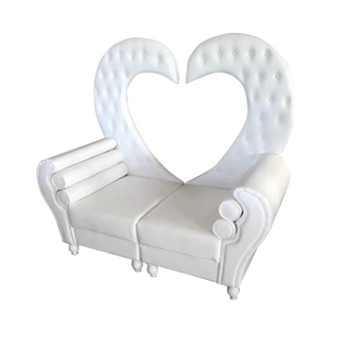 Sensational Royal White Leather Heart Shape King And Queen Wedding Loveseat Throne Chair Buy Wedding Loveseat Loveseat Throne Chair King And Queen Chair Product Dailytribune Chair Design For Home Dailytribuneorg