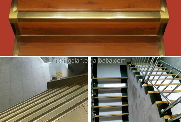 Anti Slip Aluminium Stair Nosing For Ceramic Tile