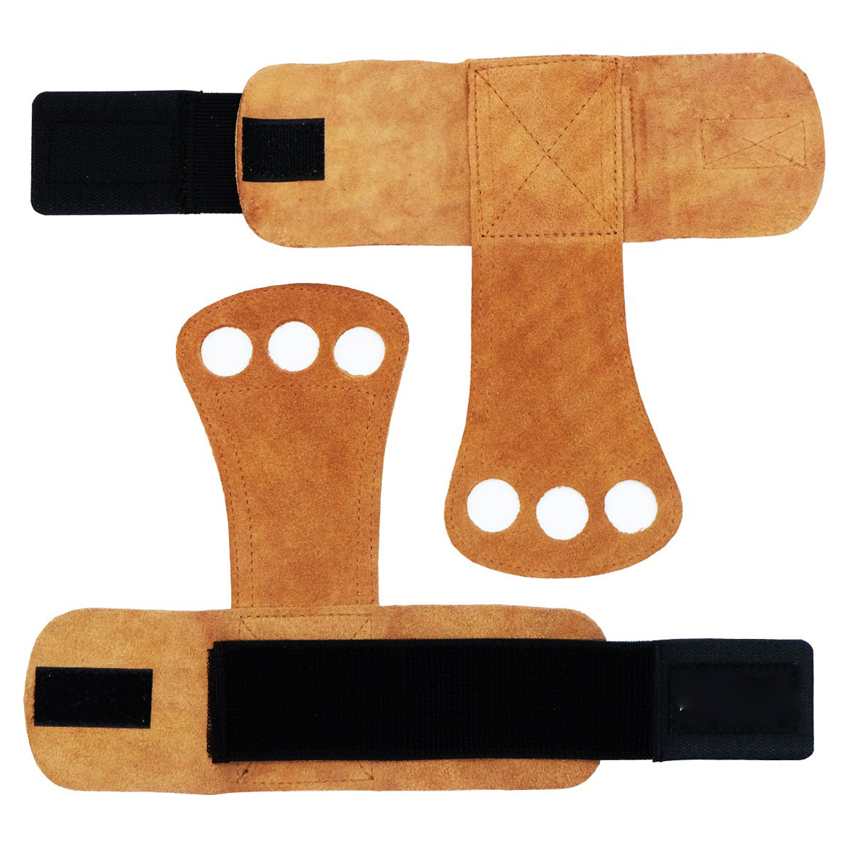 leather hand grips gymnastics hand grips  for  weight lifting