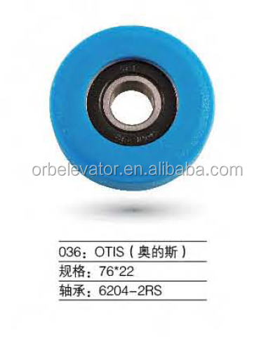 Escalator roller 76*22 trolley wheel