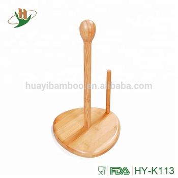 Bambus Vertikale Rollenpapier Stehen Kitchen Papier Handtuch Wc