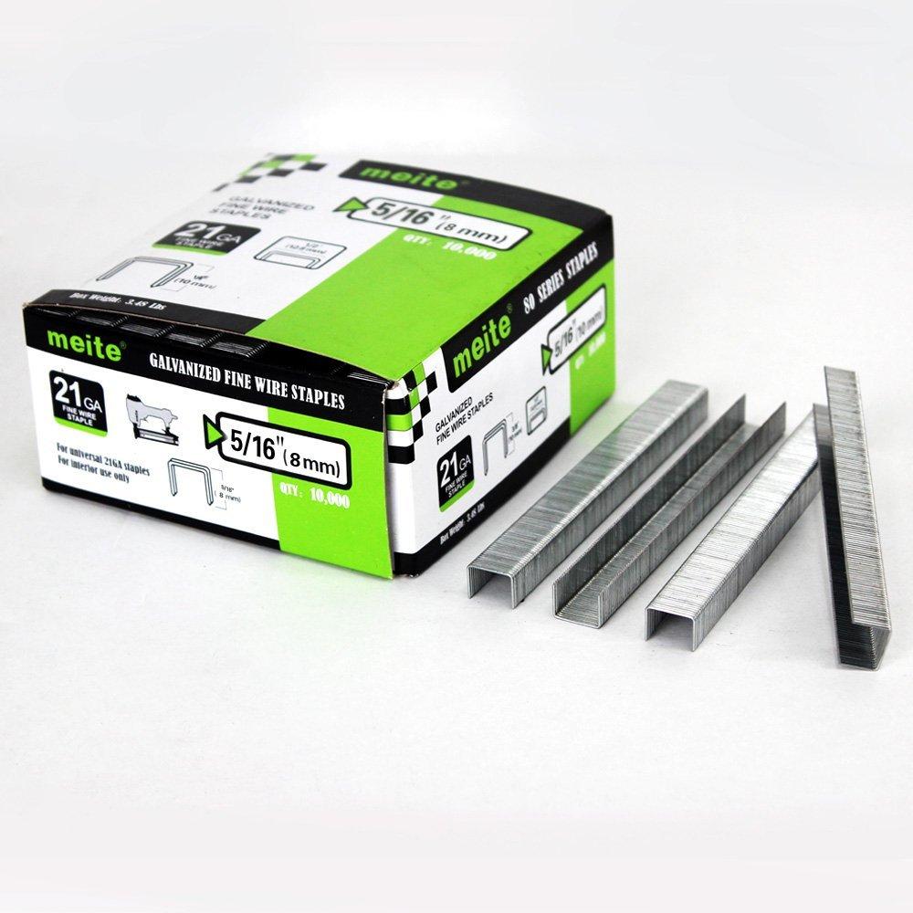 10,000 per Pack AIR LOCKER 7116 Staples 22 Gauge Upholstery 5//8 Inch Length fits Senco//Bostitch Staplers
