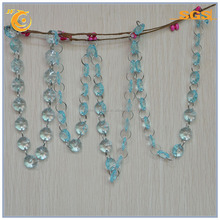 chandelier crystal beads garland strands curtain bead