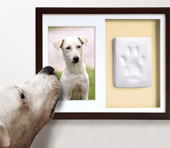 personalized pet memorial frames with paw print pet keepsake - Dog Memorial Frame