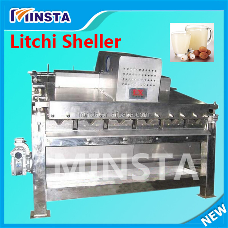 Hot Sale Lychee Peeler, Longan Peeler/low price fresh lychee peeling machine/Lichee Peeling Machinery