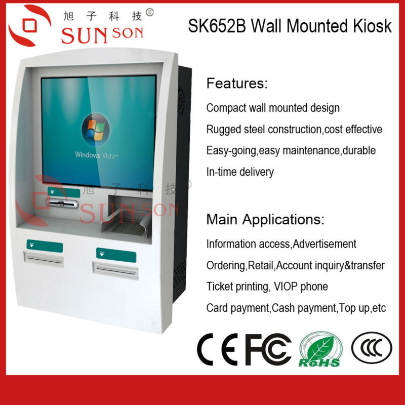 Pharmacy Self Price Checker Wall Mounted Design Information Touch